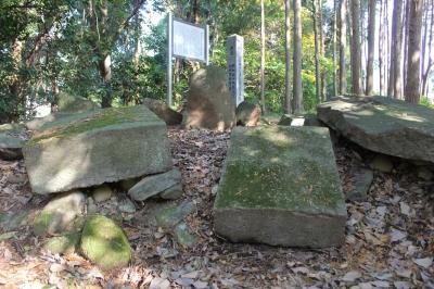 田下のキリシタン様式墓碑 市指定史跡